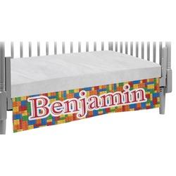 Building Blocks Crib Skirt (Personalized)