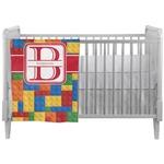 Building Blocks Crib Comforter / Quilt (Personalized)