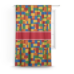 Building Blocks Curtain (Personalized)