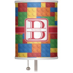 "Building Blocks 7"" Drum Lamp Shade (Personalized)"