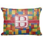 "Building Blocks Decorative Baby Pillowcase - 16""x12"" (Personalized)"