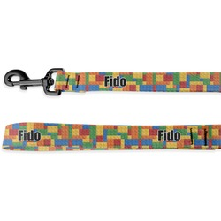 Building Blocks Deluxe Dog Leash (Personalized)