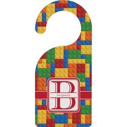 Building Blocks Door Hanger (Personalized)
