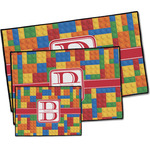 Building Blocks Door Mat (Personalized)