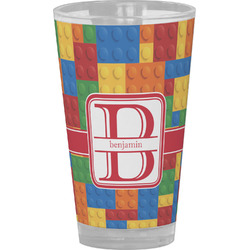 Building Blocks Drinking / Pint Glass (Personalized)