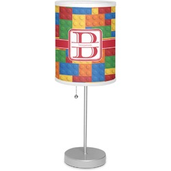 "Building Blocks 7"" Drum Lamp with Shade (Personalized)"