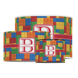 Building Blocks Drum Lamp Shade (Personalized)