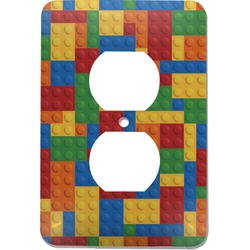 Building Blocks Electric Outlet Plate (Personalized)