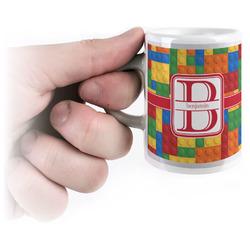 Building Blocks Espresso Mug - 3 oz (Personalized)