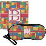 Building Blocks Eyeglass Case & Cloth (Personalized)