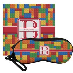 Building Blocks Eyeglass Case & Cloth (Personalized)