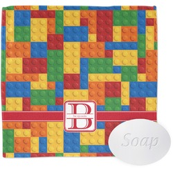 Building Blocks Wash Cloth (Personalized)