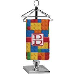 Building Blocks Finger Tip Towel - Full Print (Personalized)