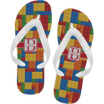 Building Blocks Flip Flops (Personalized)
