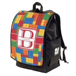 Building Blocks Backpack w/ Front Flap  (Personalized)