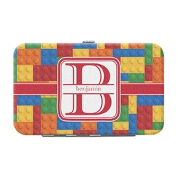Building Blocks Genuine Leather Small Framed Wallet (Personalized)