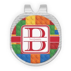 Building Blocks Golf Ball Marker - Hat Clip