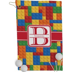 Building Blocks Golf Towel - Full Print (Personalized)