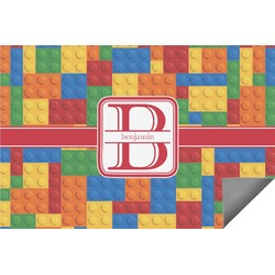 Building Blocks Indoor / Outdoor Rug (Personalized)