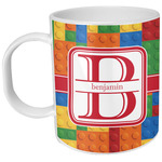 Building Blocks Plastic Kids Mug (Personalized)