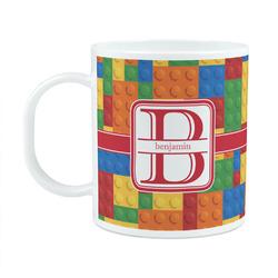 Building Blocks Plastic Kids Mug (Personalized)