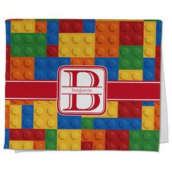 Building Blocks Kitchen Towel - Full Print (Personalized)