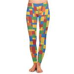 Building Blocks Ladies Leggings (Personalized)