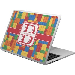Building Blocks Laptop Skin - Custom Sized (Personalized)