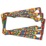 Building Blocks License Plate Frame (Personalized)