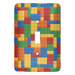 Building Blocks Light Switch Covers - Multiple Toggle Options Available (Personalized)