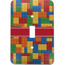Building Blocks Light Switch Cover (Single Toggle) (Personalized)