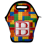 Building Blocks Lunch Bag w/ Name and Initial