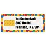 Building Blocks Return Address Labels (Personalized)