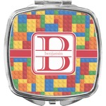 Building Blocks Compact Makeup Mirror (Personalized)