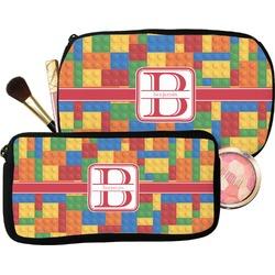 Building Blocks Makeup / Cosmetic Bag (Personalized)