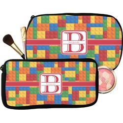 Building Blocks Makeup / Cosmetic Bag (Personalized)