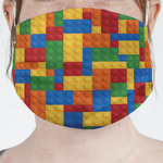 Building Blocks Face Mask Cover (Personalized)
