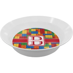 Building Blocks Melamine Bowl (Personalized)