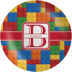 Building Blocks Melamine Plate - 8