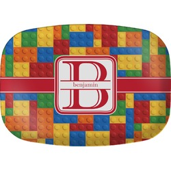 Building Blocks Melamine Platter (Personalized)