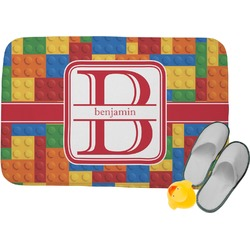 Building Blocks Memory Foam Bath Mat (Personalized)