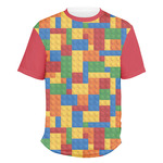 Building Blocks Men's Crew T-Shirt (Personalized)