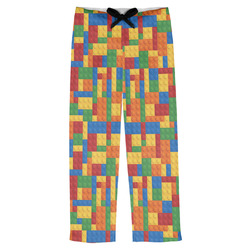 Building Blocks Mens Pajama Pants (Personalized)
