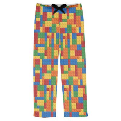 Building Blocks Mens Pajama Pants (Personalized)