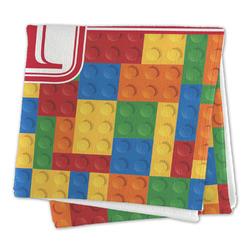 Building Blocks Large Microfiber Dish Rag (Personalized)