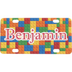 Building Blocks Mini / Bicycle License Plate (Personalized)