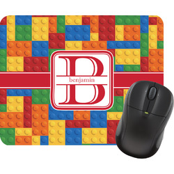 Building Blocks Rectangular Mouse Pad (Personalized)