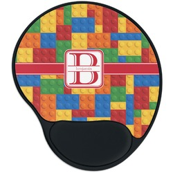 Building Blocks Mouse Pad with Wrist Support