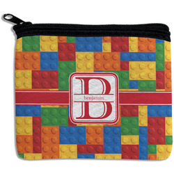 Building Blocks Rectangular Coin Purse (Personalized)