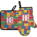 Building Blocks Oven Mitt & Pot Holder (Personalized)